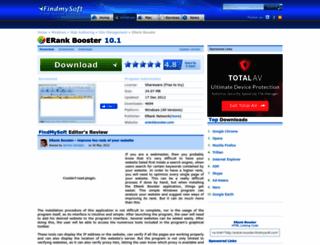 erank-booster.findmysoft.com screenshot