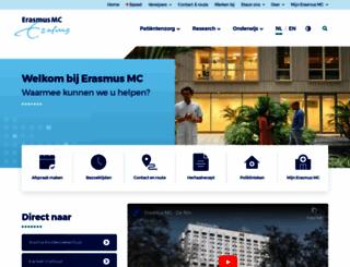 erasmusmc.nl screenshot