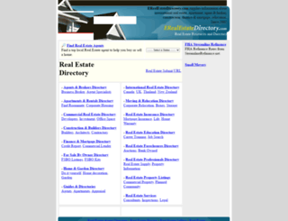 erealestatedirectory.com screenshot