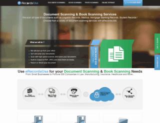 erecordsusa.com screenshot