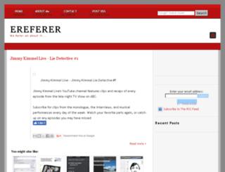 ereferer.blogspot.com screenshot