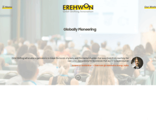 erehwonconsulting.com screenshot