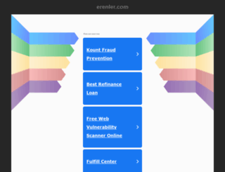 erenler.com screenshot