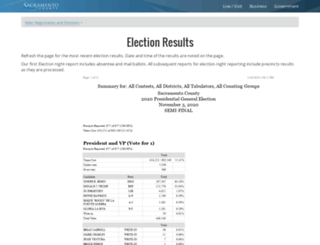 eresults.saccounty.net screenshot