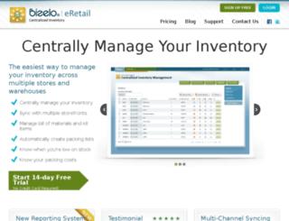 eretail.bizelo.com screenshot