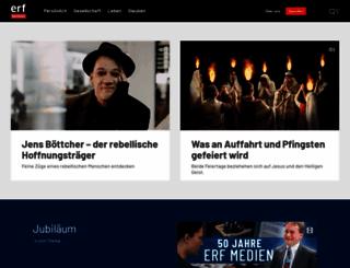 erf.ch screenshot