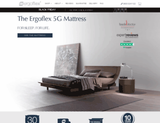 ergoflex.co.uk screenshot