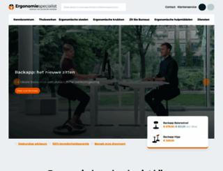 ergonomiespecialist.nl screenshot
