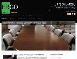 ergoofficefurniture.net screenshot