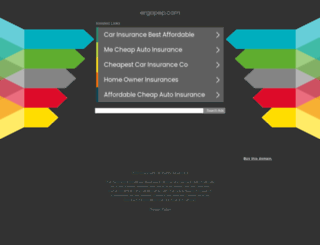 ergopep.com screenshot