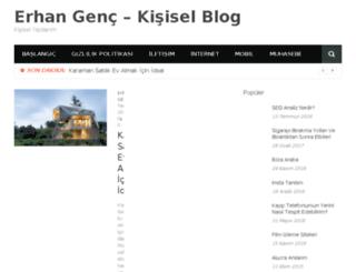 erhangenc.com.tr screenshot