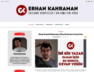 erhankahraman.com screenshot