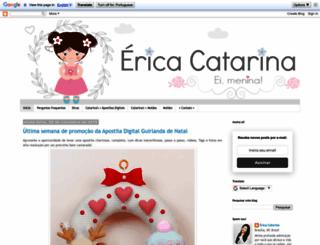 ericacatarina.blogspot.com.br screenshot