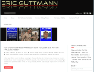 ericguttmann.com screenshot
