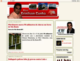 erinilsoncunha.blogspot.com.br screenshot