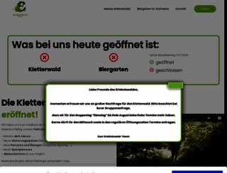 erlebniswald-mainau.de screenshot