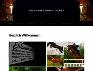 erlenwiesenhof.de screenshot