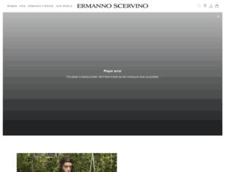 ermannoscervino.it screenshot