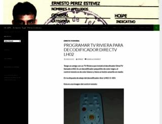 ernestoperez.com screenshot