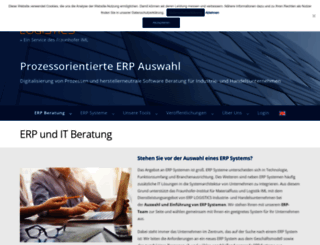 erp-logistics.com screenshot