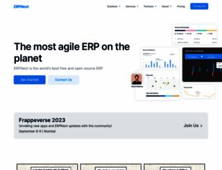 erpnext.com screenshot