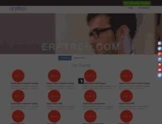 erptree.com screenshot