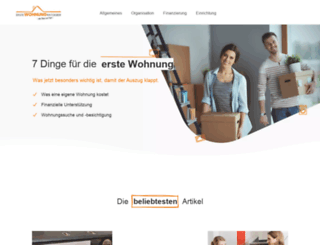 erstewohnung-ratgeber.de screenshot