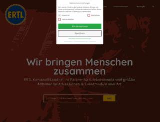 ertl-karussell-land.de screenshot