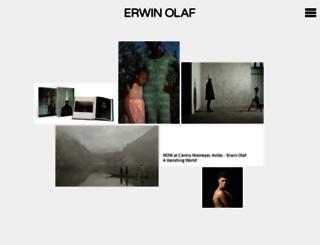 erwinolaf.com screenshot