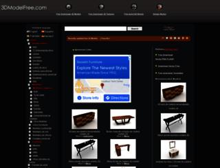 es.3dmodelfree.com screenshot