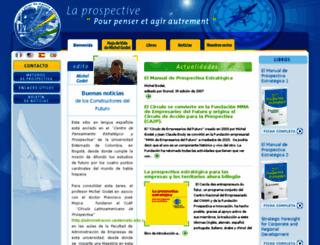 es.laprospective.fr screenshot