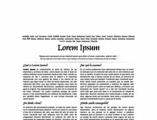 es.lipsum.com screenshot