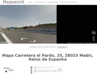 es.mapaworld.com screenshot