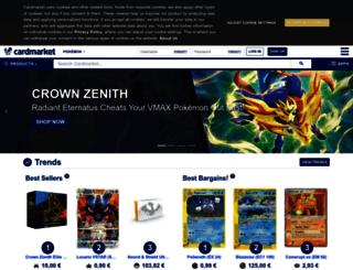 es.pokemoncardmarket.eu screenshot