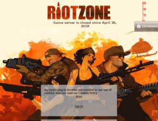 es.riotzone.com.br screenshot