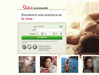 es.sinful-moments.com screenshot