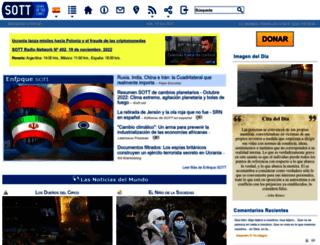 es.sott.net screenshot
