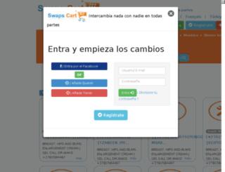 es.swapscart.com screenshot