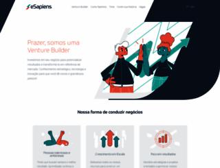 esapiens.com.br screenshot
