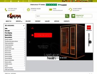 esaunashop.com screenshot
