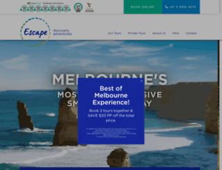 escapediscoveryadventures.com.au screenshot