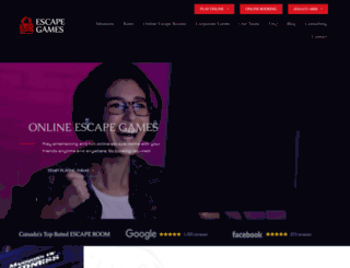 escapegames.ca screenshot