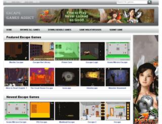 escapegamesaddict.com screenshot