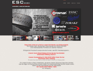 escgmbh.biz screenshot