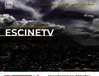escinetv.org.ve screenshot