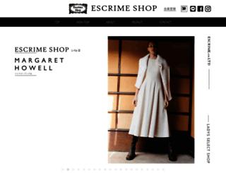 escrime.co.jp screenshot