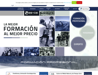 escueladeporte.com screenshot