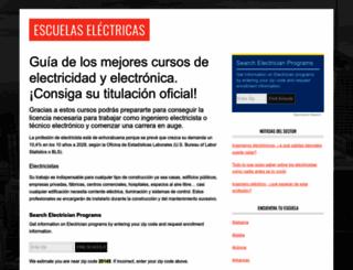 escuelaselectricas.com screenshot