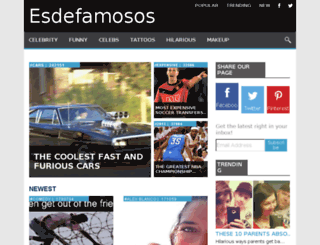 esdefamosos.com screenshot