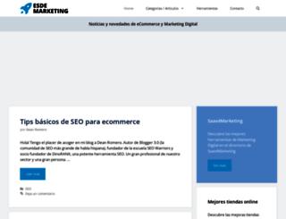 esdemarketing.com screenshot